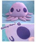 Octo-Pillow Glub Glub