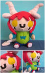 OC Plushie Commission- Lou by Mazzlebee