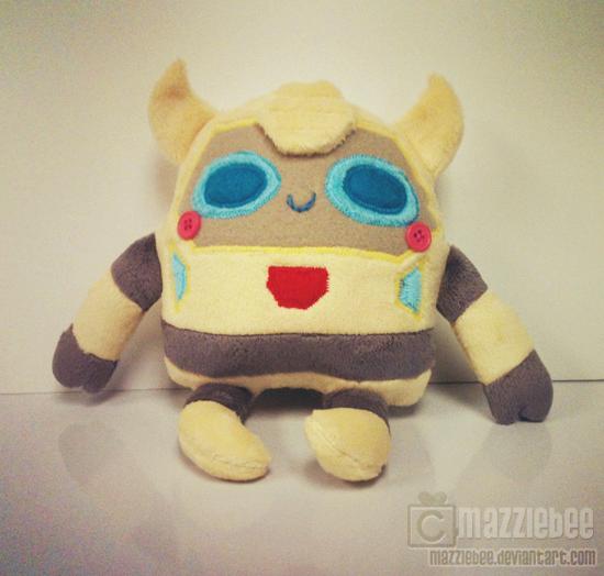 Derpy Bee by Mazzlebee