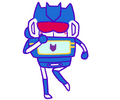 Soundwave can dance yes indeedy. by Mazzlebee
