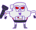 Megatron stop you're going to ruin your teeth... by Mazzlebee