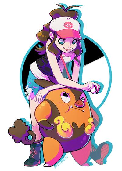 Pokemon White by Mazzlebee