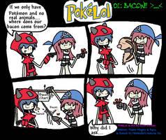 PokeLol: Bacon by Grim-Evilnov