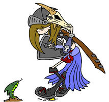 Darcy The Dragon Slayer by Grim-Evilnov