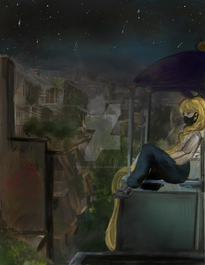 Dystopian Rapunzel by ChocolateJuju