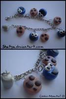 Cookie monster bracelet by Shatya