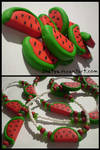 fimo watermelons