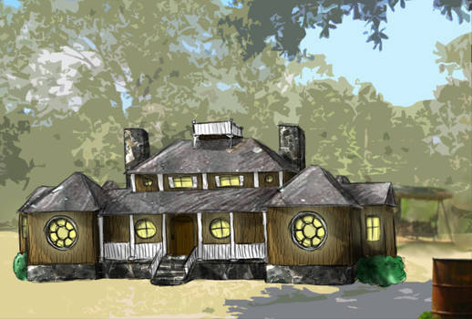 Rirka: House in the woods