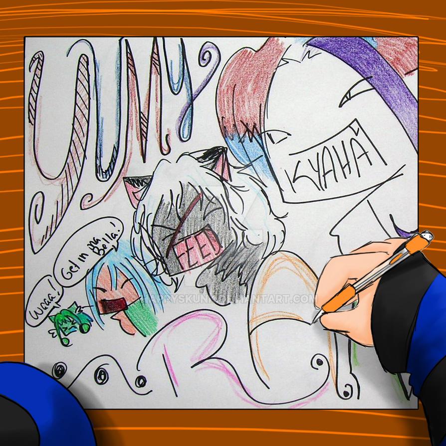 Random Doodle Doodler Yep by HappySkunk