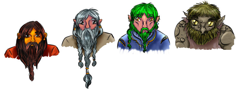 Glacian Dwarves
