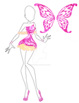 Adoptable Butterflyix Design+Wings~SOLD!