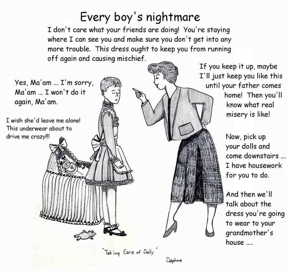 Every Boy's Nightmare By Daphnesecretgarden On DeviantArt
