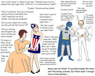 Classic Halloween costume mixup! by Daphnesecretgarden