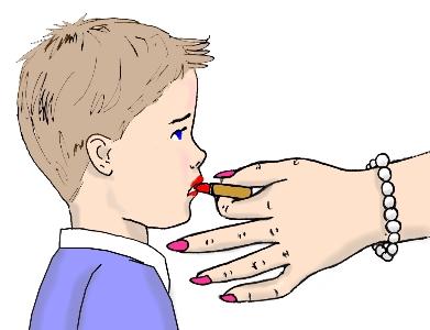 Lipstick Discipline