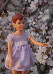 Sakura in the Spring by Daphnesecretgarden
