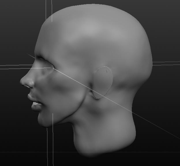 Sculpting a head in Sculptris by Emzi-Cat on DeviantArt