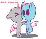 Base pony chibi love