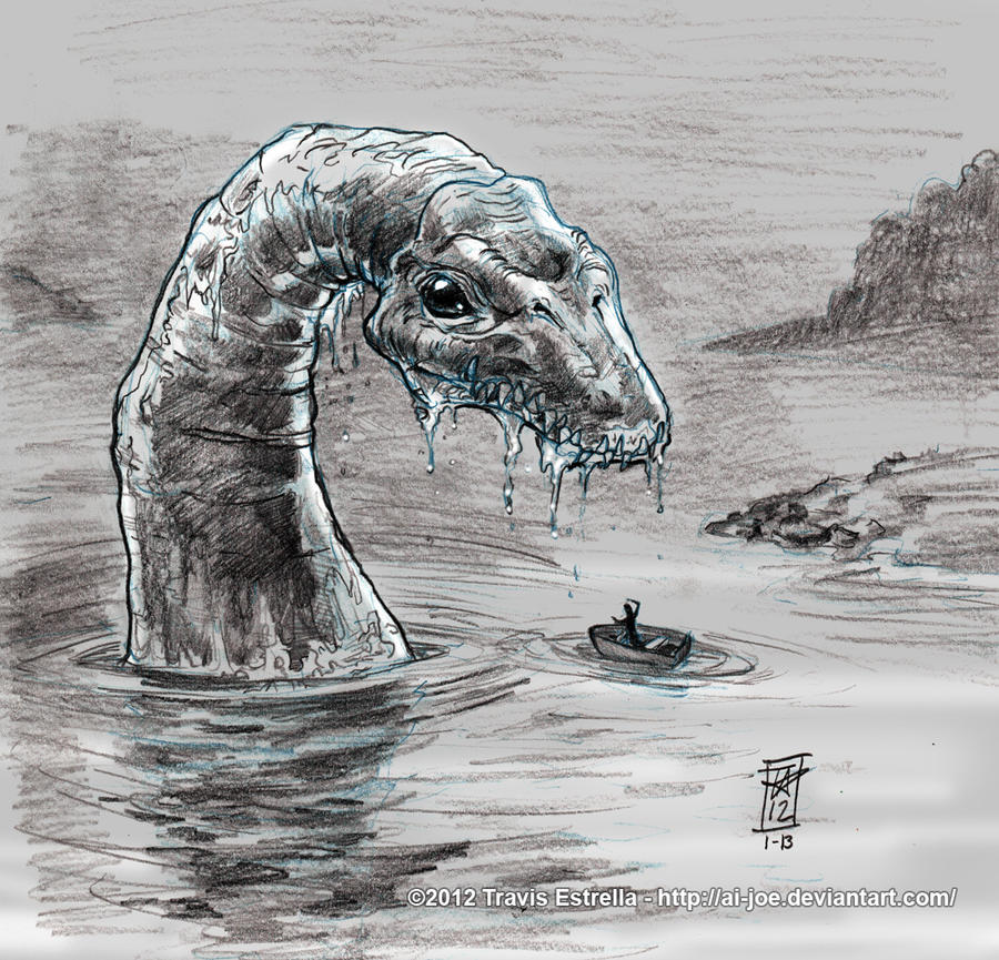 Loch Ness Sketch Music