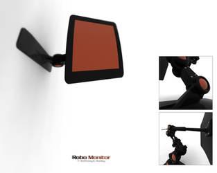 Robo Monitor Wallpaper by BVision