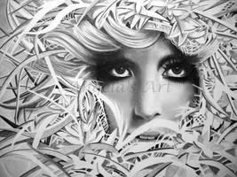 LADY GAGA 2 by AngelasPortraits