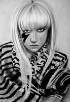 LADY GAGA 3 by AngelasPortraits
