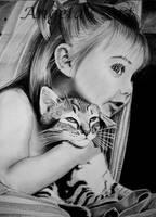 Little friends by AngelasPortraits