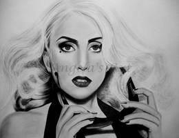 LADY GAGA 8 by AngelasPortraits