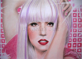 LADY GAGA 9 by AngelasPortraits