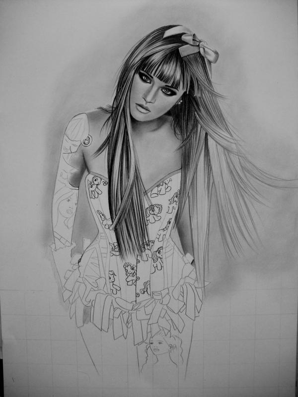 Draw-along WIP 2 by AngelasPortraits
