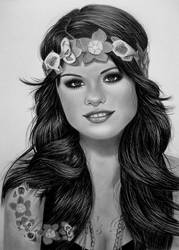 SELENA GOMEZ by AngelasPortraits