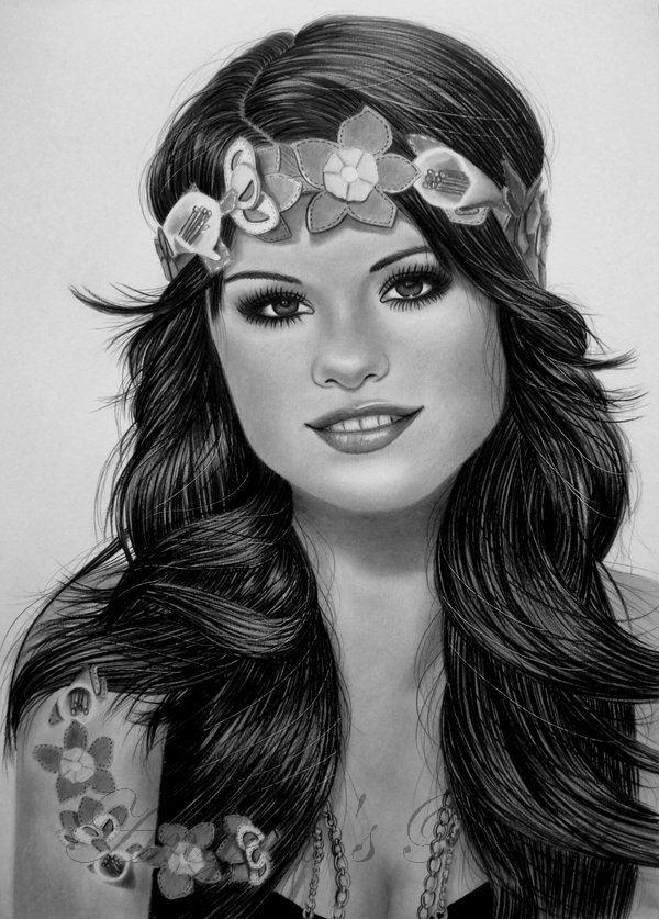 SELENA GOMEZ by AngelasPortraits