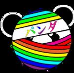 Rainbow Ninja Panda