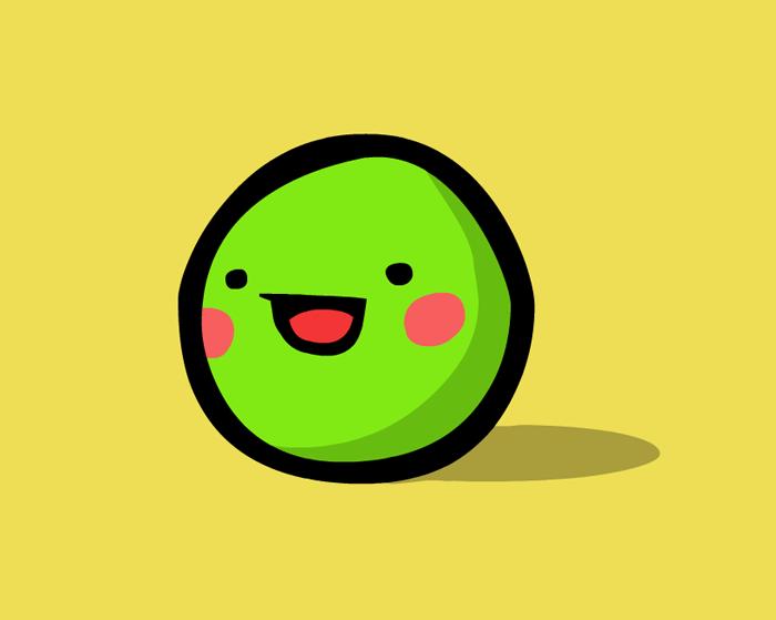 Happy Pea By Fancyferret On Deviantart