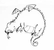 Fat Dragon by FancyFerret