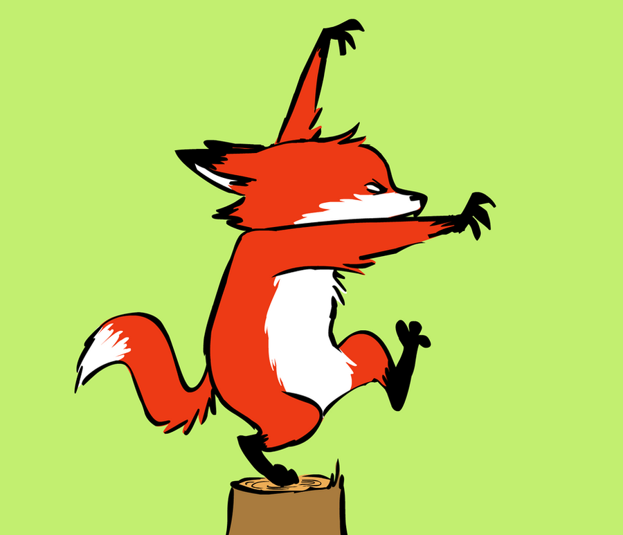 Karate Fox by FancyFerret
