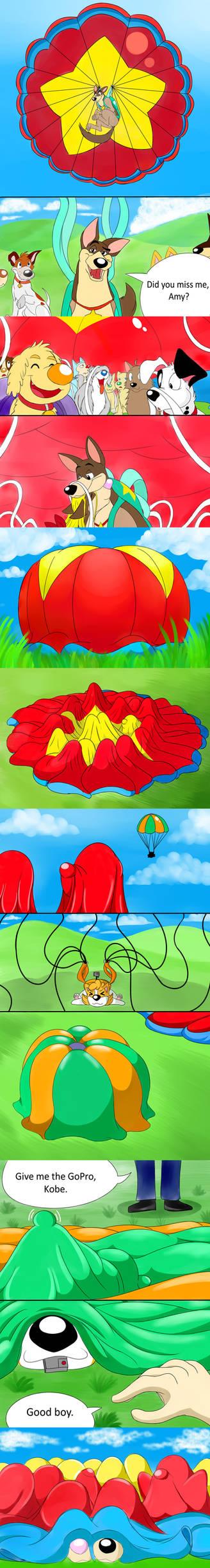 Thunderbolt meets Amelia Part.2 (Comic Version)