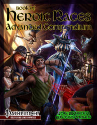 Cover for Heroic Races by Luis-Salas