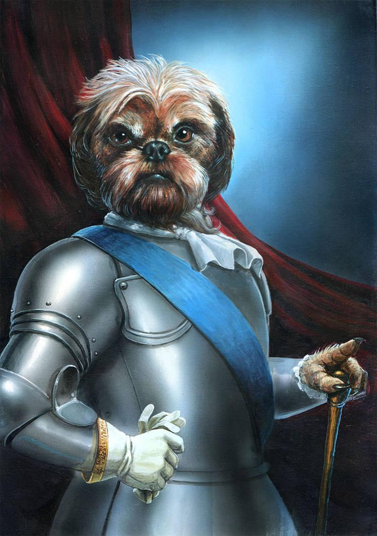 Sir doggie by Luis-Salas