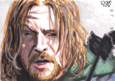 Boromir sketch card by tdastick