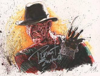 Freddy Krueger - signed by tdastick