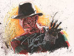 Freddy Krueger - signed