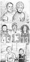 Family Personal Sketch Cards 2 by tdastick