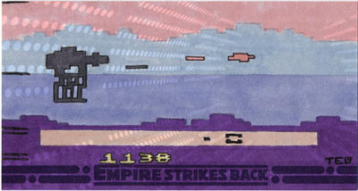 Empire Strikes Back 3D 2600 by tdastick