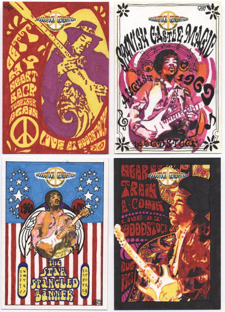 Woodstock - Jimi Hendrix by tdastick