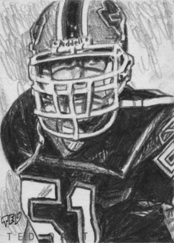 Paul Posluszny by tdastick