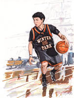 Austin Rivers by tdastick