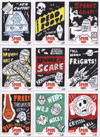 Spook Show sketch cards 1 by tdastick