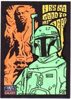 Star Wars Galaxy 7 - Boba and Han by tdastick