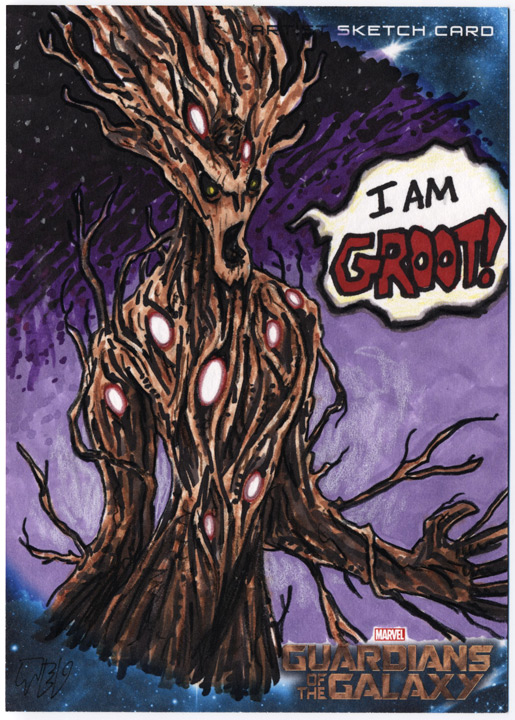 Guardians of the Galaxy - I AM GROOT! by tdastick