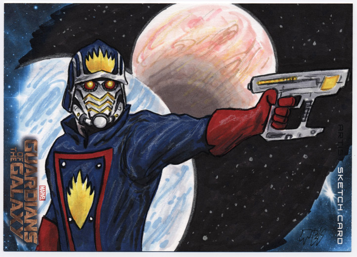 Guardians of the Galaxy - Star-Lord by tdastick
